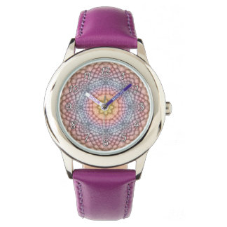 Pastels Vintage Kaleidoscope Vintage Kids Watch