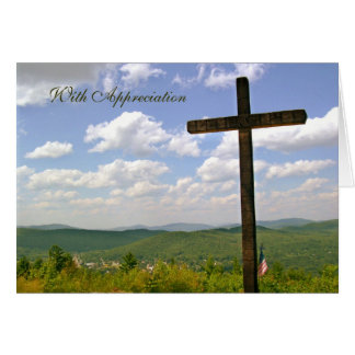 Pastor Appreciation Card