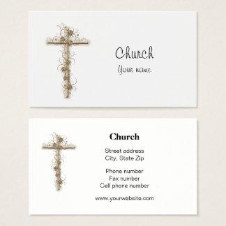 Pastor Reverend Church Business Card