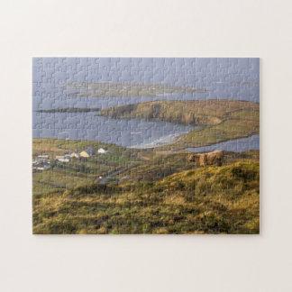 Pastoral Irish Coast Jigsaw Puzzles