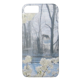 Pastoral Nature Scenery in Winter iPhone 7 Case
