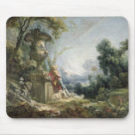 Pastoral Scene, or Young Shepherd in a Landscape Mouse Mat