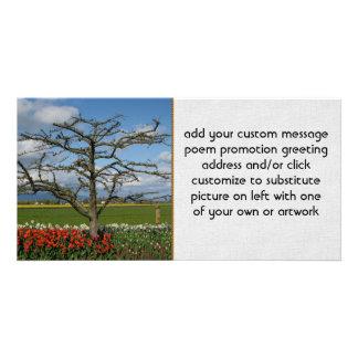 Pastoral Scene Customised Photo Card
