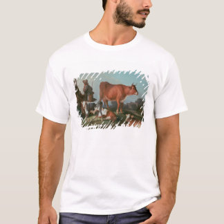 Pastoral scene with a cowherd T-Shirt