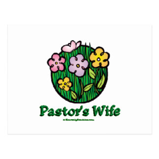 Pastor's Wife Blooms1 Post Card