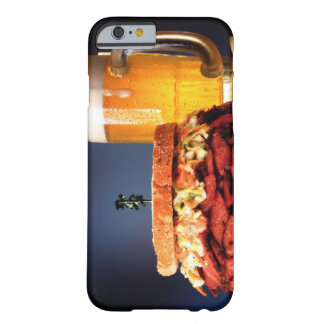 Pastrami sandwich with mug of beer barely there iPhone 6 case