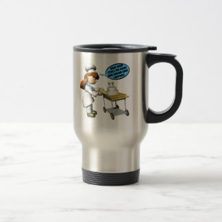 Pastry Chef Stainless Steel Travel Mug