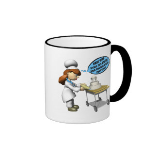 Pastry Chef Coffee Mugs