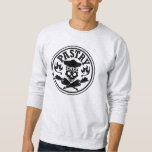 Pastry Chef Skull and Crossed Pastry Bags Sweatshirt