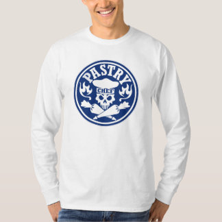 Pastry Chef Skull and Crossed Pastry Bags T-Shirt