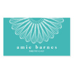 Pastry Chef Whisk Logo Catering  Bakery Pack Of Standard Business Cards