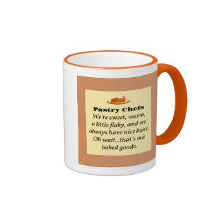 Pastry Chefs Ringer Mug