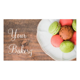 Pastry Dessert Baking Business Marketing Pack Of Standard Business Cards