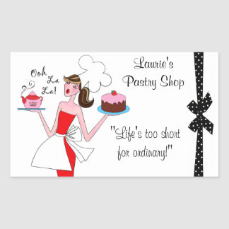 Pastry Diva Stickers