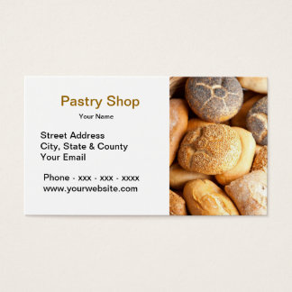 Pastry Shop Business Card