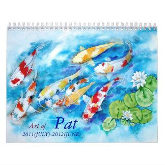 PAT MADAMBA calender 2011-2012 Calendar