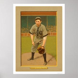 Pat Moran Cubs Phillies Baseball 1911 Poster