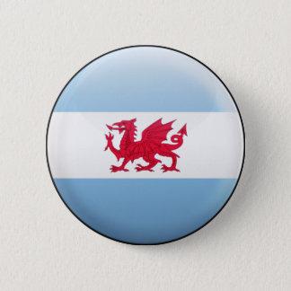 Patagonia Flag 6 Cm Round Badge