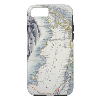 Patagonia, from a Series of World Maps published b iPhone 8/7 Case