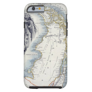 Patagonia, from a Series of World Maps published b Tough iPhone 6 Case