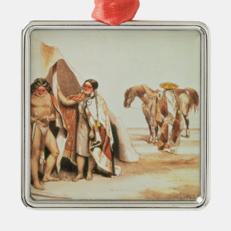 Patagonian Indians Christmas Ornament