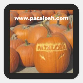 Patalosh Pumpkin Patch Square Sticker