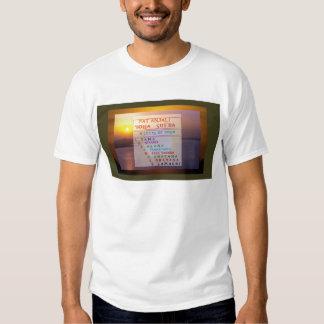 PATANJALI Yoga Meditation Sutra List T Shirts