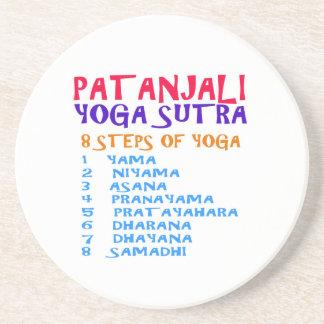 PATANJALI Yoga Sutra Compilation List Beverage Coaster