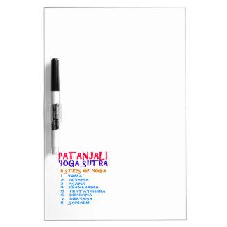 PATANJALI Yoga Sutra Compilation List Dry-Erase Whiteboard