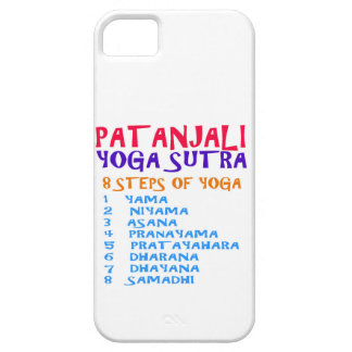PATANJALI Yoga Sutra Compilation List iPhone 5 Case