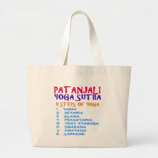 PATANJALI Yoga Sutra Compilation List Jumbo Tote Bag