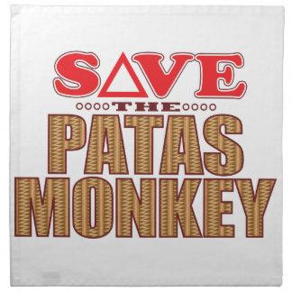 Patas Monkey Save Napkin