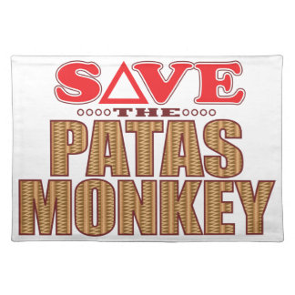 Patas Monkey Save Placemat