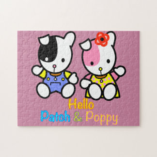 Patch and Poppy jigsaw puzzle