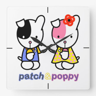 Patch and Poppy love clock