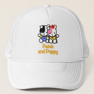 Patch and Poppy the puppies hat