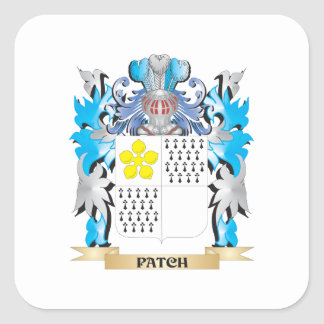 Patch Coat of Arms - Family Crest Square Sticker