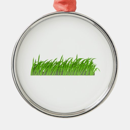 Patch of Grass Christmas Ornament