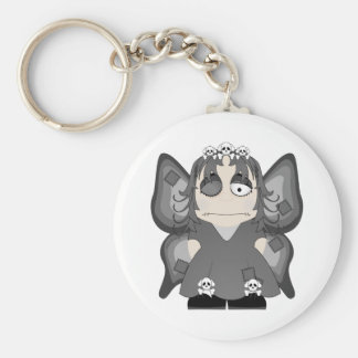 Patched Gothic Princess Fairy Key Chains