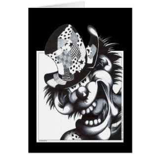 Patches the Clown Greeting Card