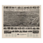 Patchogue, NY Panoramic Map - 1906 Poster