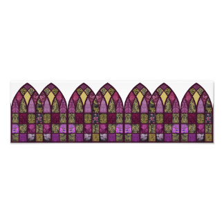 Patchwork Arch in Raspberry and Purple Photo
