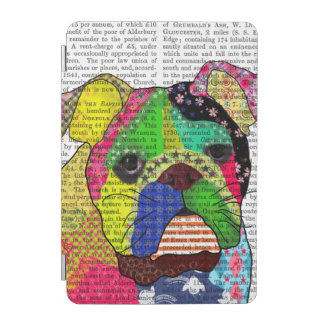 Patchwork Bulldog iPad Mini Cover