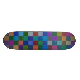 """Patchwork Delight - 7 3/4"""" Deck Skateboard"""