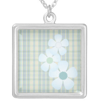 Patchwork Flowers Necklace