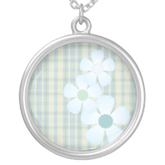 Patchwork Flowers Necklace