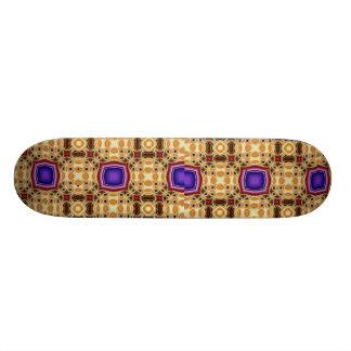 Patchwork Fractal Skate Board Deck