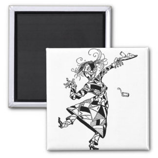 Patchwork Girl of Oz Square Magnet