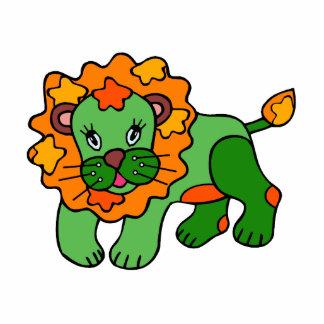 Patchwork Lion Photo Sculpture