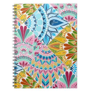 Patchwork Mandala Design Note Books